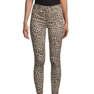 Design Lab Leopard Skinny Jeans